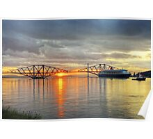 Queen Mary in the Forth Poster