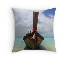 Thoughts of Vacation Throw Pillow