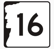 Route 16, New Hampshire Kids Tee
