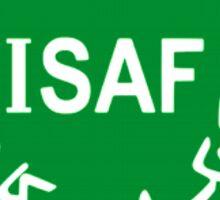 International Security Assistance Force ISAF VVV Shield  Sticker