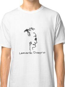 A portrait of Leonardo Dicaprio Classic T-Shirt