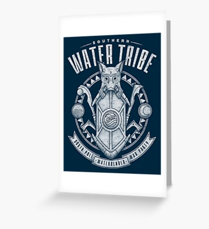 Avatar Southern Water Tribe Greeting Card