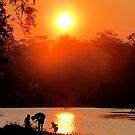 Family Fishing by Nicki Baker