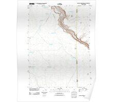 USGS Topo Map Oregon Beaver Charlie Breaks 20110824 TM Poster