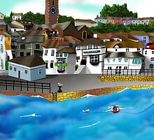 Cornish Harbour by aaronnaps