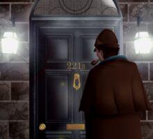 Haunted house Baker street 221b Sticker