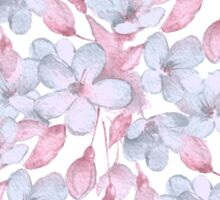 Pattern with delicate flowers Sticker