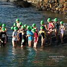 Kingscliff Triathlon 2011 Swim leg C235 by Gavin Lardner