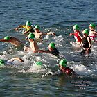 Kingscliff Triathlon 2011 Swim leg C236 by Gavin Lardner