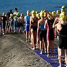 Kingscliff Triathlon 2011 Swim leg C238 by Gavin Lardner