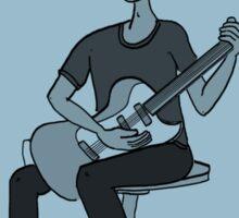 The Guitar Player Sticker