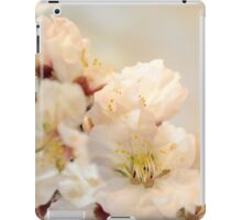 Beautiful blossoms on white iPad Case/Skin