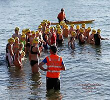 Kingscliff Triathlon 2011 Swim leg C254 by Gavin Lardner