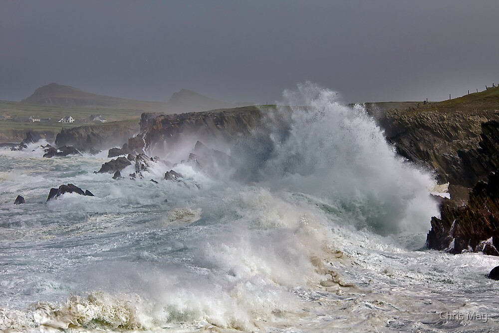 Storm Lord Series 5 Dingle Peninsula Ireland by Chris May