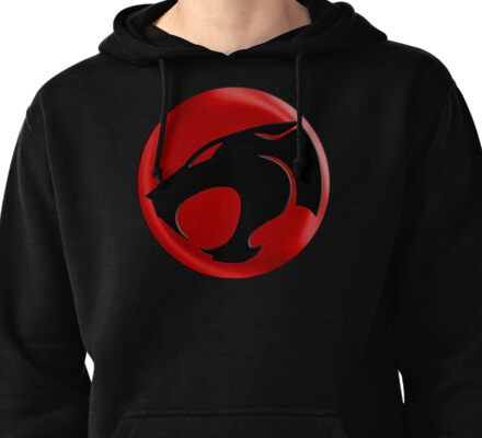 AVAILABLE SIZES S TO XXL, THUNDERCATS (BLACK)! Mens funny t-shirt Pullover Hoodie