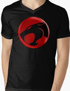 AVAILABLE SIZES S TO XXL, THUNDERCATS (BLACK)! Mens funny t-shirt Mens V-Neck T-Shirt