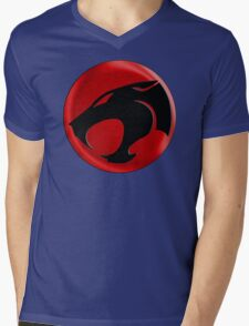 AVAILABLE SIZES S TO XXL, THUNDERCATS (BLACK)! Mens funny t-shirt Mens V-Neck T-Shirt