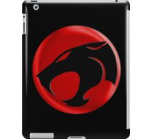 AVAILABLE SIZES S TO XXL, THUNDERCATS (BLACK)! Mens funny t-shirt iPad Case/Skin