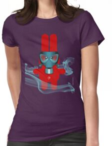 RABBIT 7 (TOXIC TIME) Womens Fitted T-Shirt