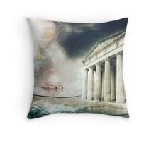 Paleocontact Throw Pillow