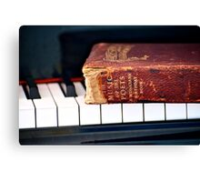 Music of the Poets Canvas Print
