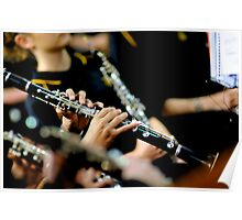 Clarinets Poster