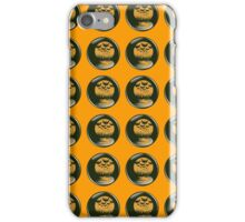 bats against full moon silhouettes iPhone Case/Skin