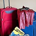 Luggage, ready to go by Janette Anderson