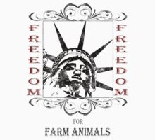 FREEDOM FOR FARM ANIMALS Kids Clothes