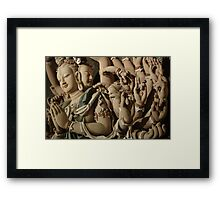 Buddhism Framed Print
