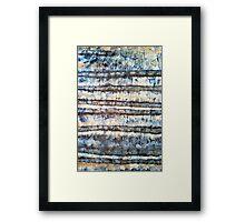 Tie Die Framed Print