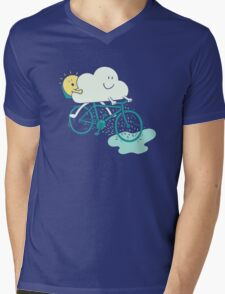Weather Cycles Mens V-Neck T-Shirt