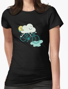 Weather Cycles Womens Fitted T-Shirt