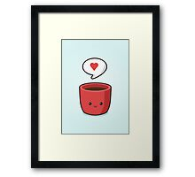 Cute Mug Framed Print