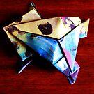 frog origami by 2piu2design