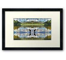 Any Which Way You Look.... Framed Print