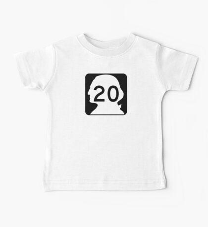 State Route 20, Washington Baby Tee