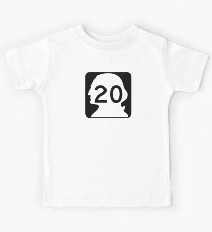 State Route 20, Washington Kids Tee
