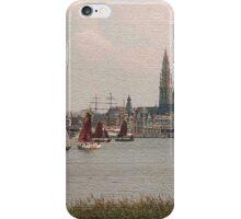 Antwerp Harbour iPhone Case/Skin