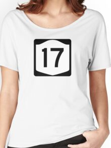 State Route 17, New York Women's Relaxed Fit T-Shirt