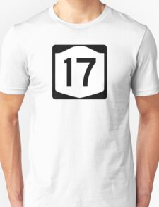 State Route 17, New York Unisex T-Shirt