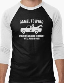 Camel Towing Funny T Shirt Adult Humor Rude Gift Tee Shirt Tow Truck Unisex Tee Men's Baseball ¾ T-Shirt