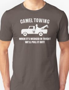 Camel Towing Funny T Shirt Adult Humor Rude Gift Tee Shirt Tow Truck Unisex Tee T-Shirt