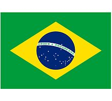 Brazil World Cup Flag - Brazilian T-Shirt by deanworld