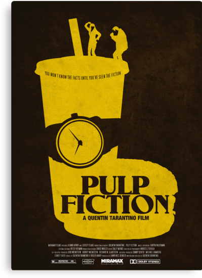 Pulp Fiction by forgedesignwork