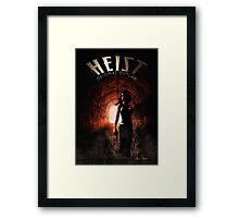 Heist - Cover Framed Print