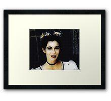 Vampire Bride Framed Print