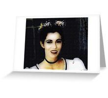 Vampire Bride Greeting Card