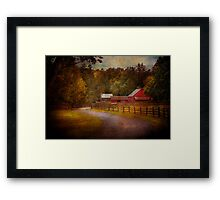 Farm - Barn - Rural Journeys  Framed Print