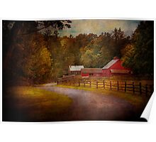 Farm - Barn - Rural Journeys  Poster
